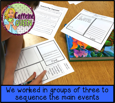 sequencing and retelling for comprehension