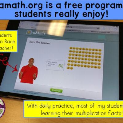 Xtramath.org – a wonderful FREE Program for Your Math Class!
