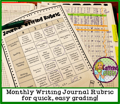 Rubrics are quick and easy for time-crunched teachers