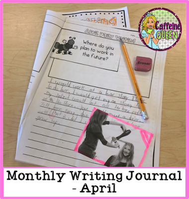 Students can illustrate their writing