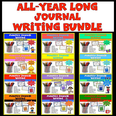 All-year writing journals