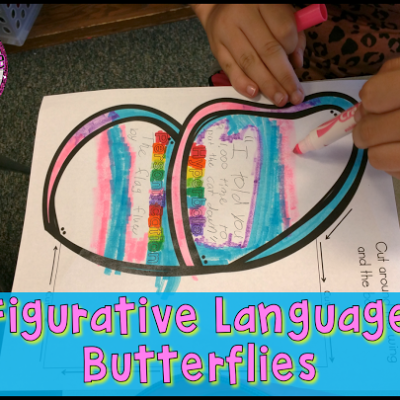 Figurative Language Butterfly Activity!