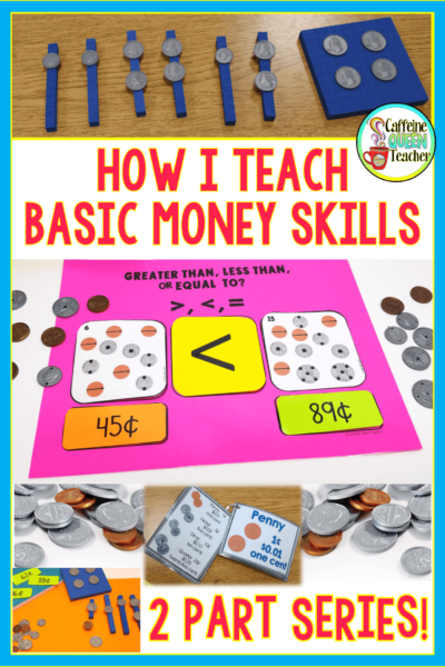 Teaching money skills to students