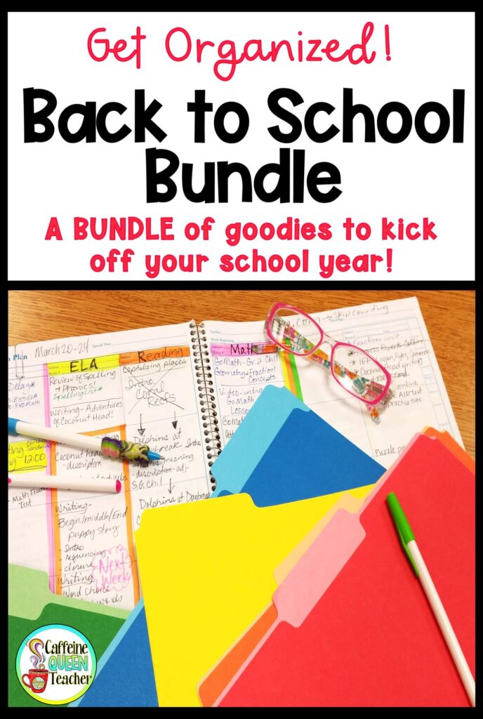 Back to School Bundle for Teachers
