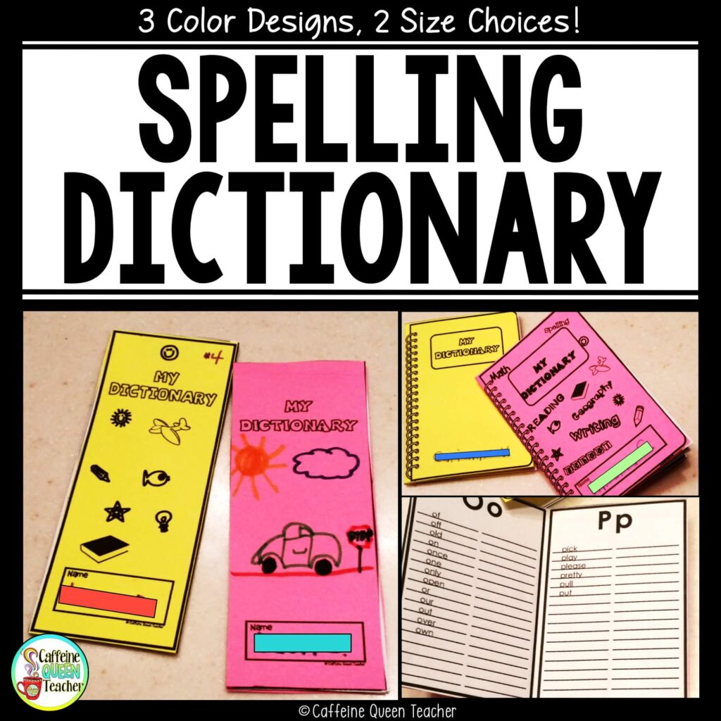 student spelling dictionary is perfect for helping students with writing