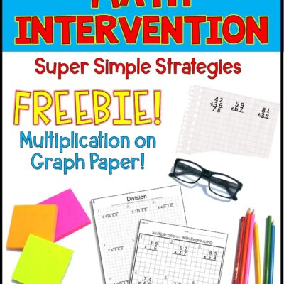 Graph Paper Math Intervention