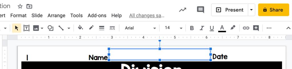 placing-text-box-on-google-slide