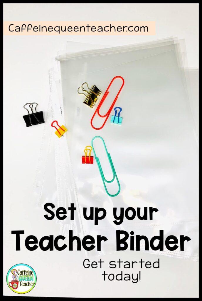 setting-up-an-organized-teaching-binder