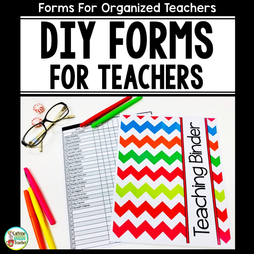 teaching-forms-for-teacher-binders
